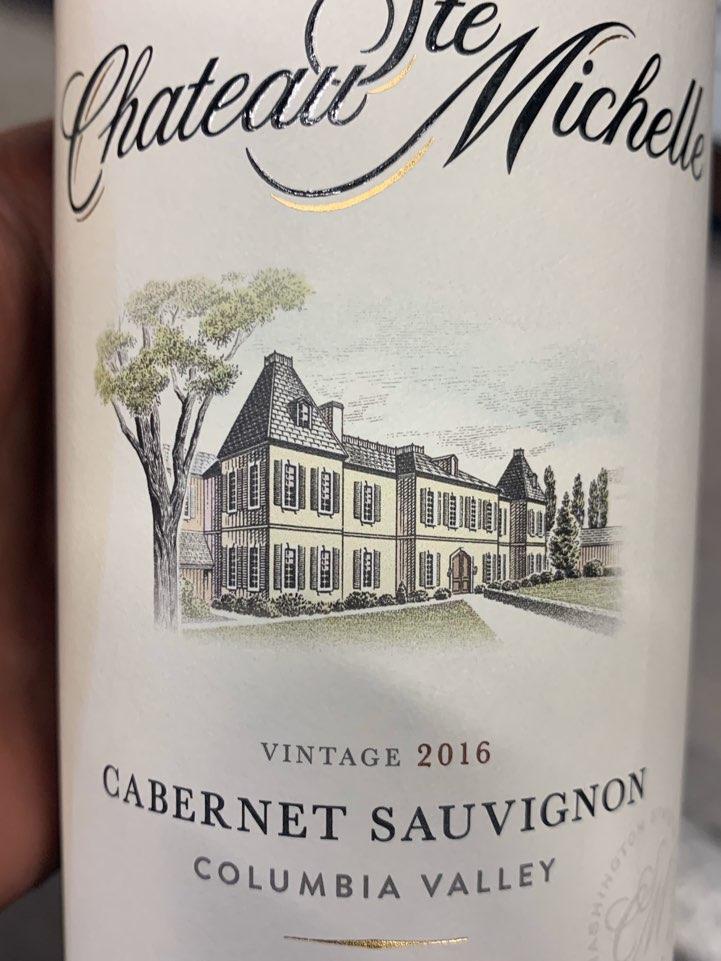 샤또 생 미쉘 콜롬비아 밸리 까베르네쇼비뇽 2017 Chateau Ste Michell Columbia Valley Cabernet Sauvignon