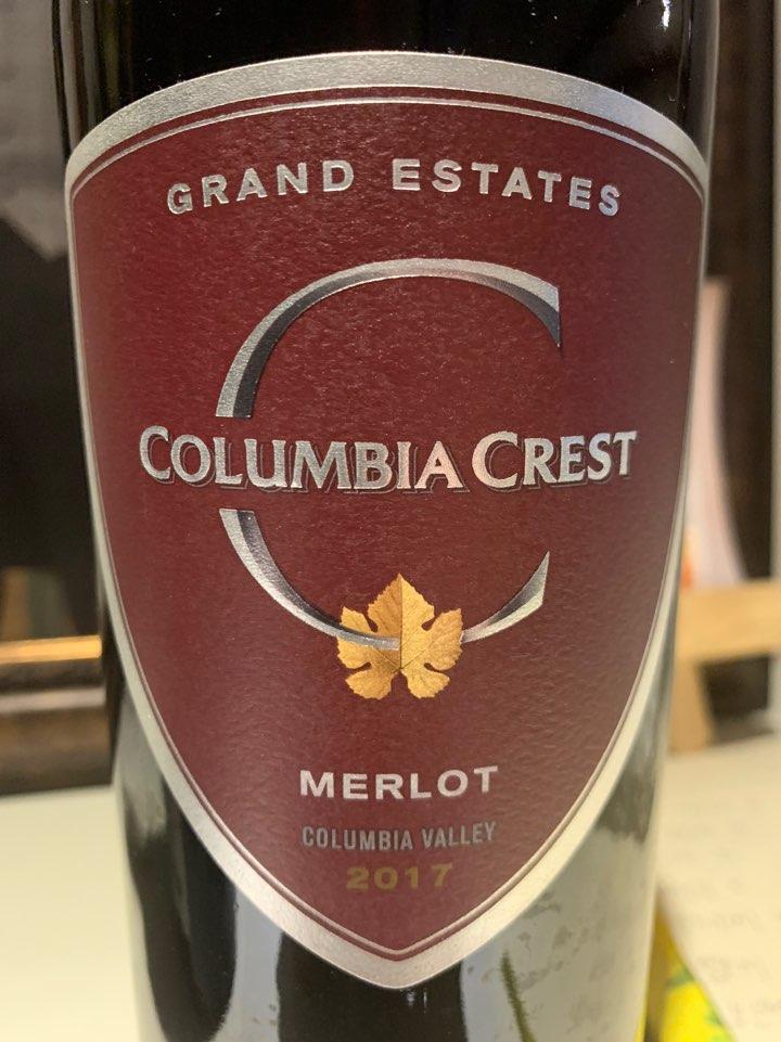 콜롬비아 크레스트 그랑 에스테이트 메를로 2016 Columbia crest gran estate merlot