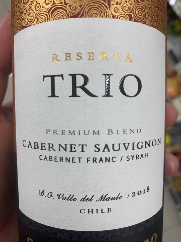 트리오 레세르바 까베르네 소비뇽 2017 Trio Reserva Cabernet Sauvignon